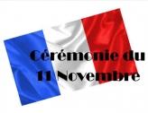 cérémonies du 11 novembre